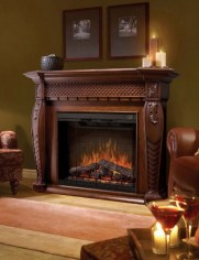 Best Valentines Fire Pit Mantel Decorating Ideas 10