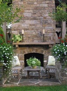 Best Valentines Fire Pit Mantel Decorating Ideas 20