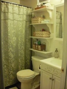 Brilliant Small Bathroom Storage Organization Ideas 11