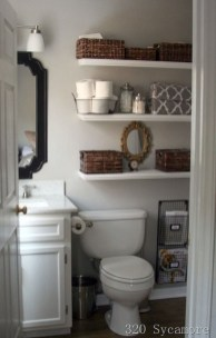 Brilliant Small Bathroom Storage Organization Ideas 21