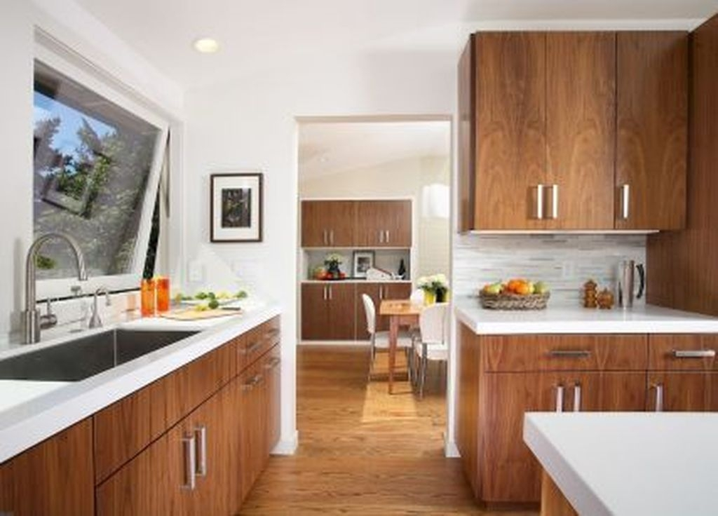Cool Modern Mid Century Kitchen Decoration Ideas 14
