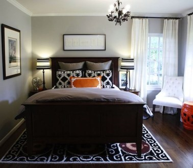 Cool Small Master Bedroom Decorating Ideas 26