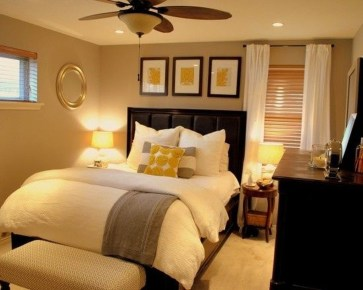 Cool Small Master Bedroom Decorating Ideas 41