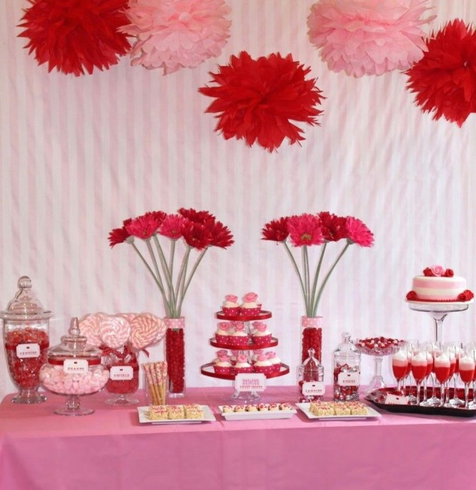Inspiring Table Decoration Ideas For Valentines Party 18