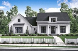 Modern Farmhouse Exterior Designs Ideas 47