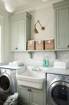 Totally Inspiring Small Functional Laundry Room Ideas 10