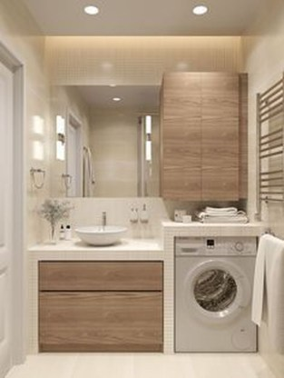 Totally Inspiring Small Functional Laundry Room Ideas 17