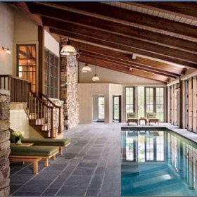 Adorable Small Indoor Swimming Pool Design Ideas 30