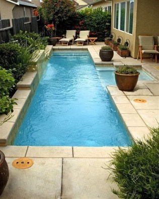 Adorable Small Indoor Swimming Pool Design Ideas 35