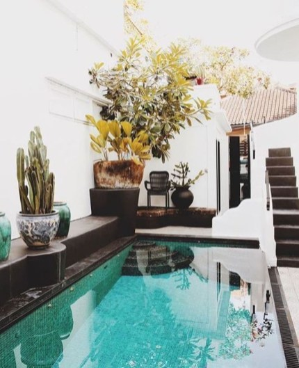 Adorable Small Indoor Swimming Pool Design Ideas 48