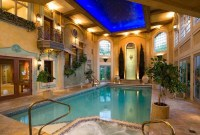 Adorable Small Indoor Swimming Pool Design Ideas 51