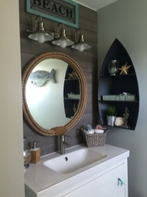 Awesome Coastral Nautical Bathroom Design Ideas 17