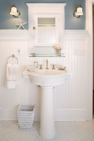 Awesome Coastral Nautical Bathroom Design Ideas 18