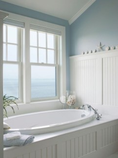 Awesome Coastral Nautical Bathroom Design Ideas 29