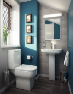 Awesome Coastral Nautical Bathroom Design Ideas 42