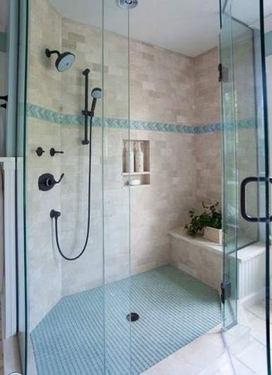Awesome Coastral Nautical Bathroom Design Ideas 47