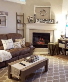 Cute Rustic Farmhouse Home Decoration Ideas 10