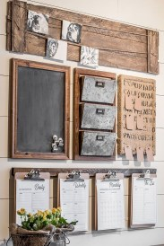 Cute Rustic Farmhouse Home Decoration Ideas 12