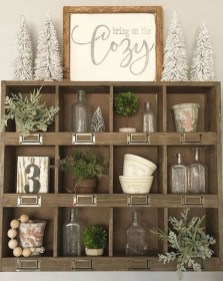 Cute Rustic Farmhouse Home Decoration Ideas 50
