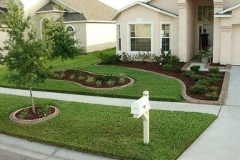 Gorgeous Front Yard Landscaping Remodel Ideas 52