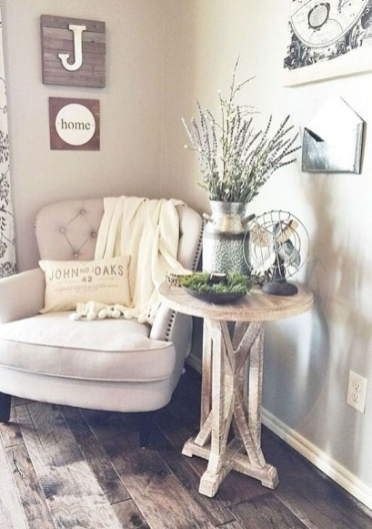 Modern Farmhouse Living Room Decoration Ideas 09