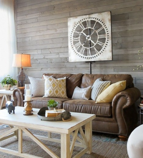 Modern Farmhouse Living Room Decoration Ideas 15
