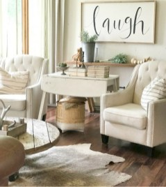 Modern Farmhouse Living Room Decoration Ideas 28