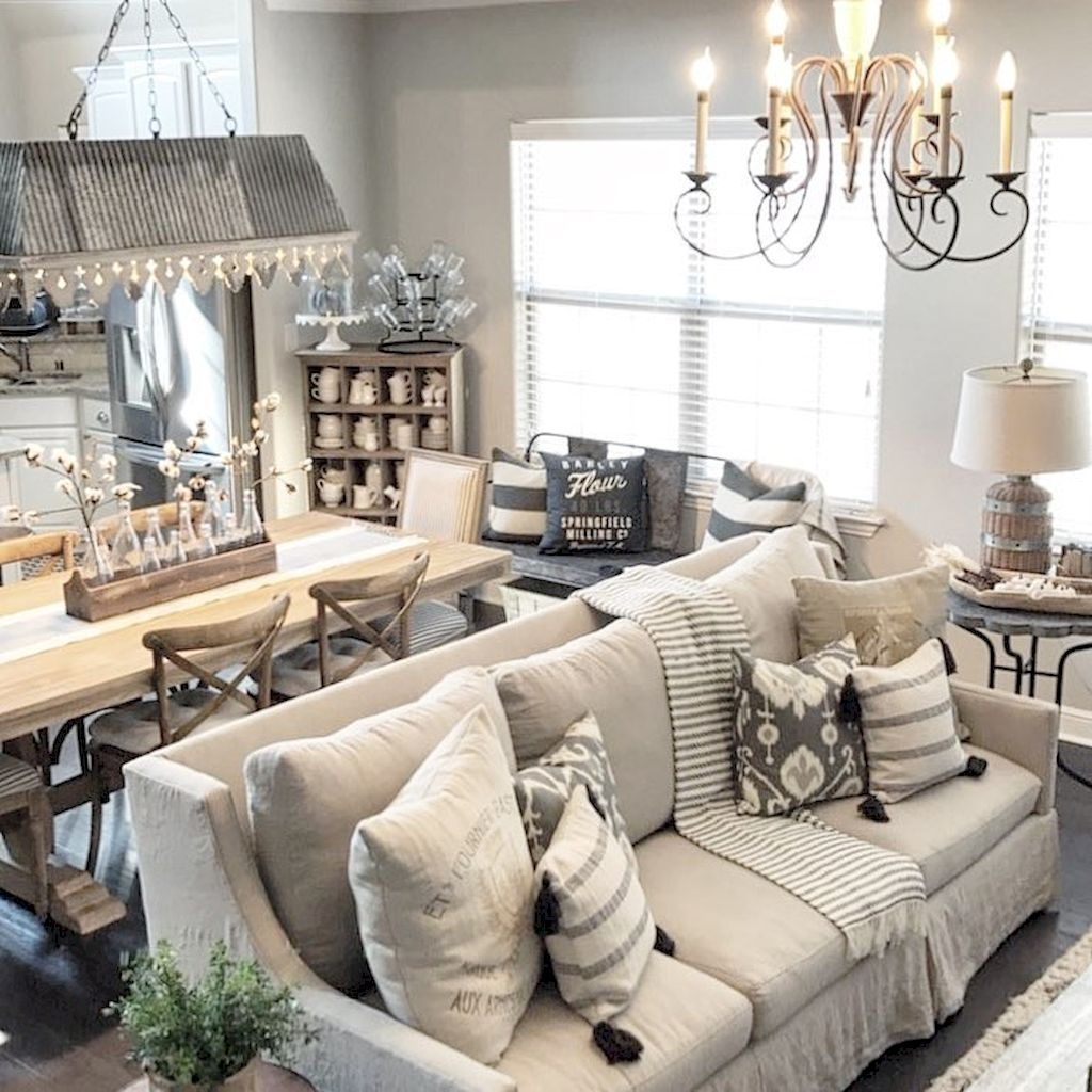 Modern Farmhouse Living Room Decoration Ideas 30