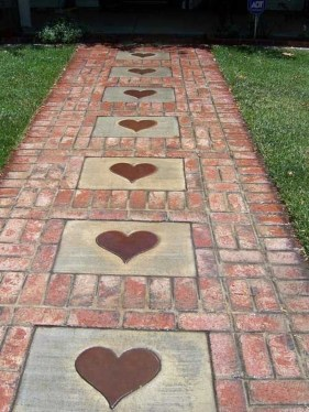 Stylish Stepping Stone Pathway Décor Ideas 34