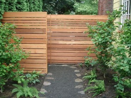 Totally Inspiring Front Yard Fence Remodel Ideas 36