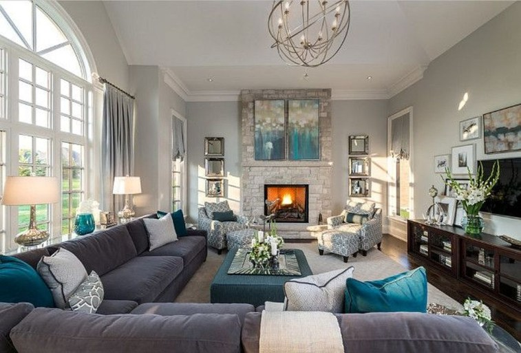 Adorable Decorative Accent Pillows Ideas For Living Room 10