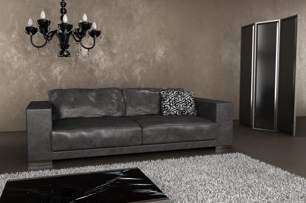 Beautiful Leather Couch Decorating Ideas For Living Room16