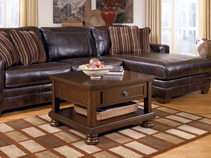 Beautiful Leather Couch Decorating Ideas For Living Room21