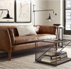 Beautiful Leather Couch Decorating Ideas For Living Room33