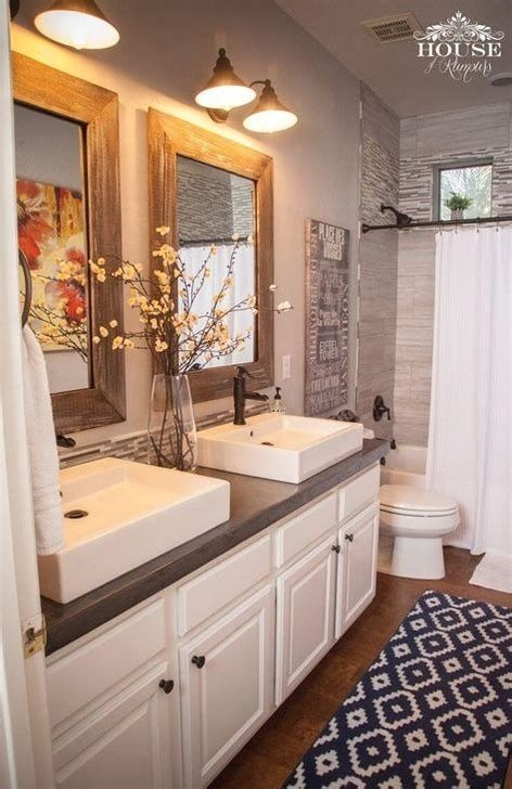 Best Modern Farmhouse Bathroom Decor Ideas 08