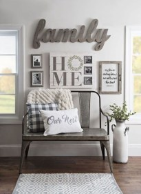 Cozy Modern Farmhouse Style Living Room Decor Ideas 23