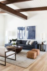 Gorgeous White And Blue Living Room Ideas For Modern Home 11