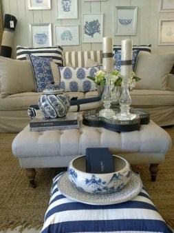 Gorgeous White And Blue Living Room Ideas For Modern Home 15