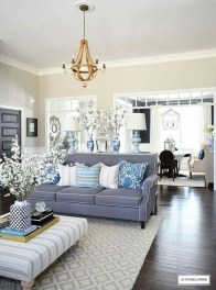 Gorgeous White And Blue Living Room Ideas For Modern Home 18