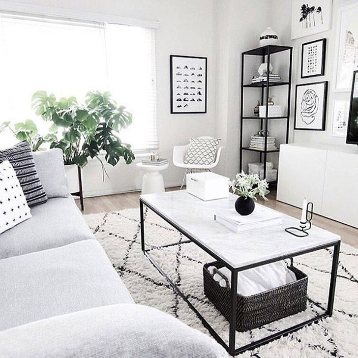 Modern Apartment Décor For Living Room 21