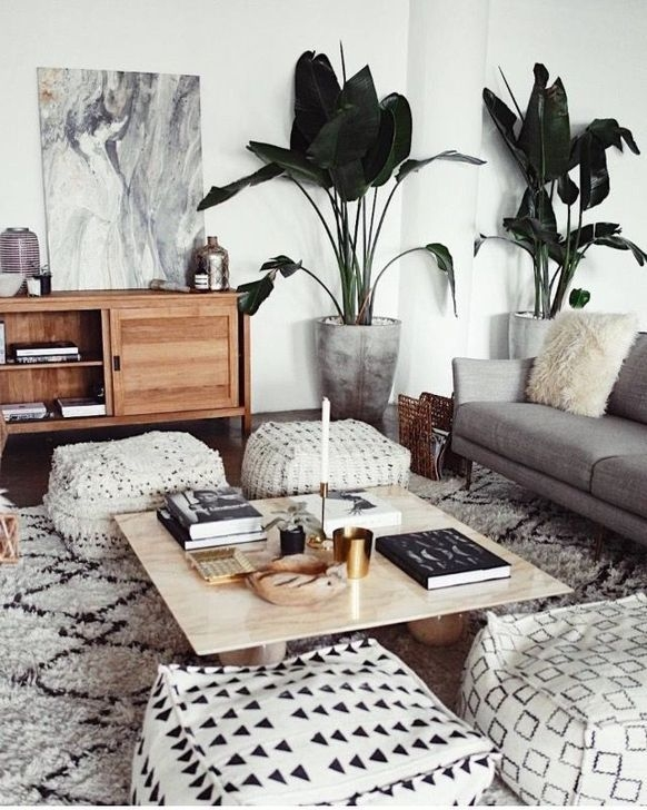 Modern Apartment Décor For Living Room 30
