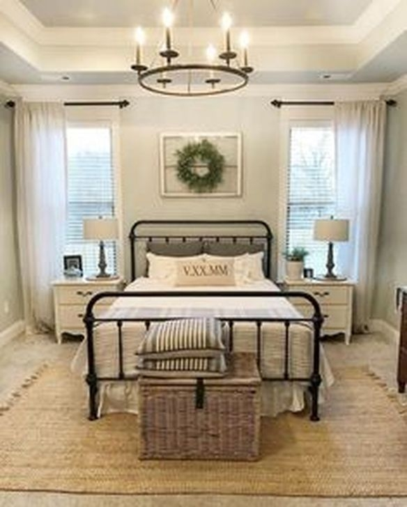 Stunning Farmhouse Style Modern Bedroom Decor Ideas 30