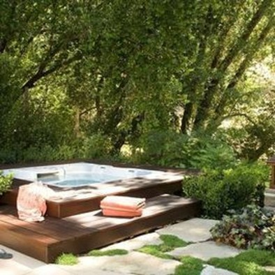 Totally Inspiring Garden Tub Decorating Ideas 27