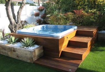 Totally Inspiring Garden Tub Decorating Ideas 39