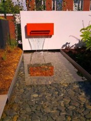 Amazing Modern Water Feature For Your Landscape17