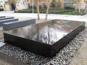 Amazing Modern Water Feature For Your Landscape29