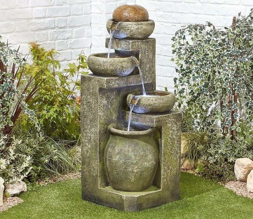 Amazing Modern Water Feature For Your Landscape35