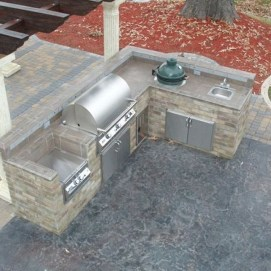 Awesome Outdoor Kitchen Design Ideas 11