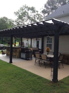 Awesome Outdoor Kitchen Design Ideas 23