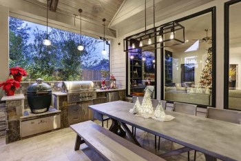 Awesome Outdoor Kitchen Design Ideas 29